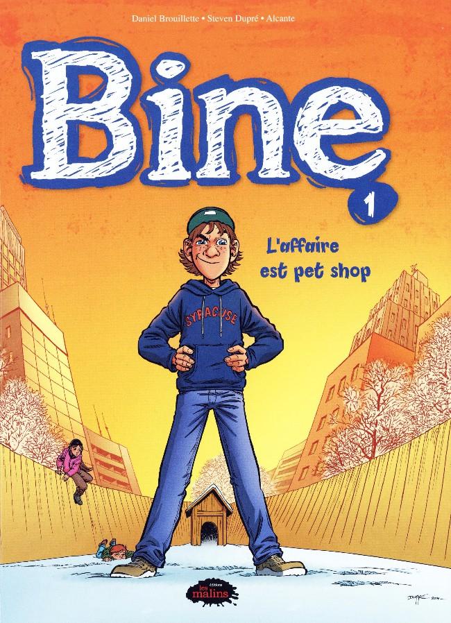 Couverture de Bine -1- L'affaire est pet shop