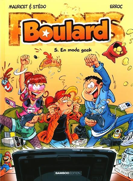 Couverture de Boulard -5- En mode geek