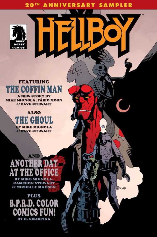 Couverture de Hellboy (1994) -HS- Hellboy 20th Anniversary Sampler