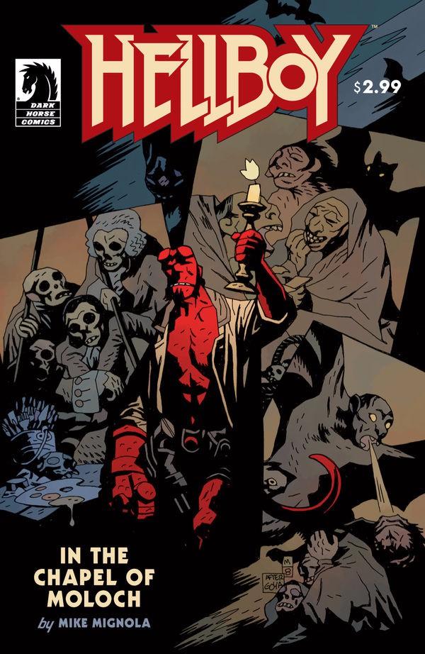 Couverture de Hellboy (1994) -36- In the Chapel of Moloch