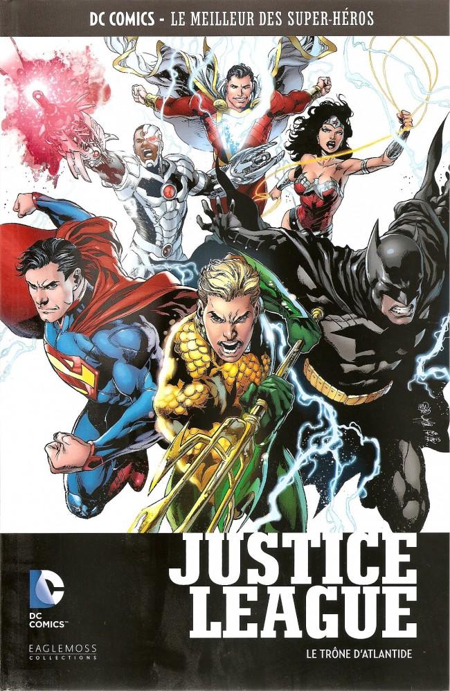 Couverture de DC Comics - Le Meilleur des Super-Héros -47- Justice League - Le Trône d'Atlantide