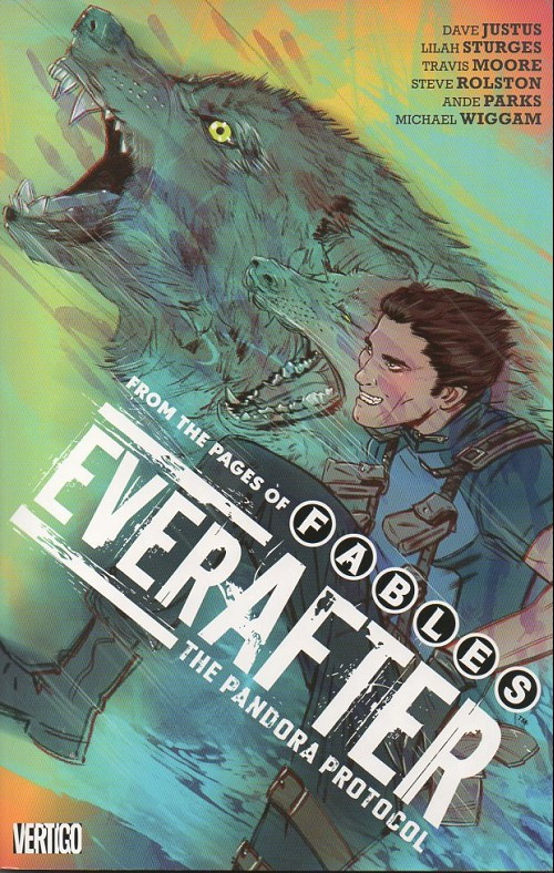 Couverture de Everafter : from the pages of fables (2017) -INT01- The pandora protocol