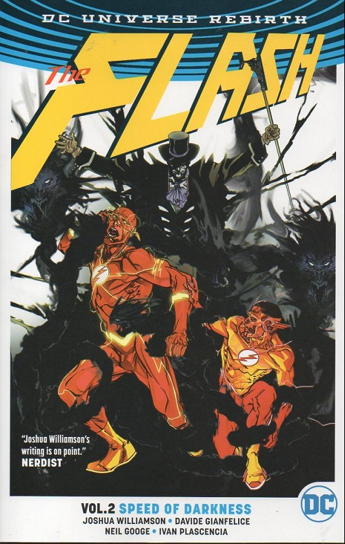 Couverture de Flash (the) (2016) -INT02- Speed of darkness