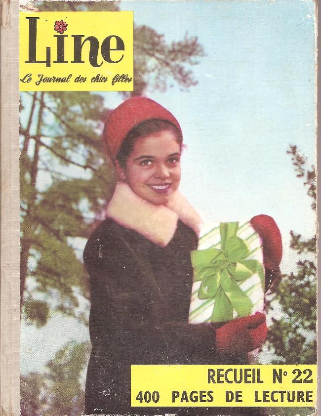 Couverture de Line (Le journal des chics filles) -Rec22- Recueil N°22 (du n°298 au n°310)