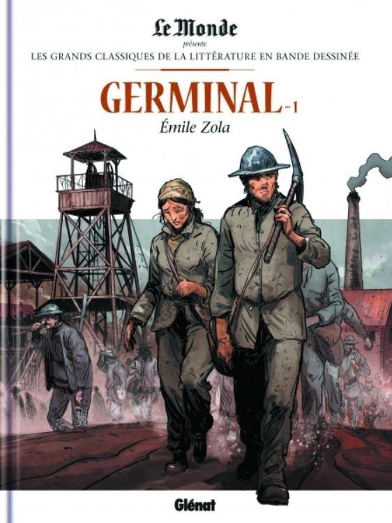 Couverture de Les grands Classiques de la littérature en bande dessinée -12- Germinal - 1