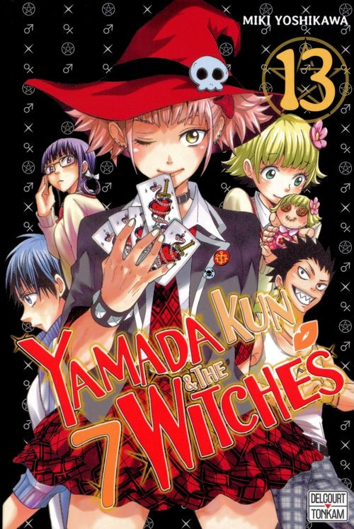 Couverture de Yamada kun & the 7 Witches -13- Tome 13