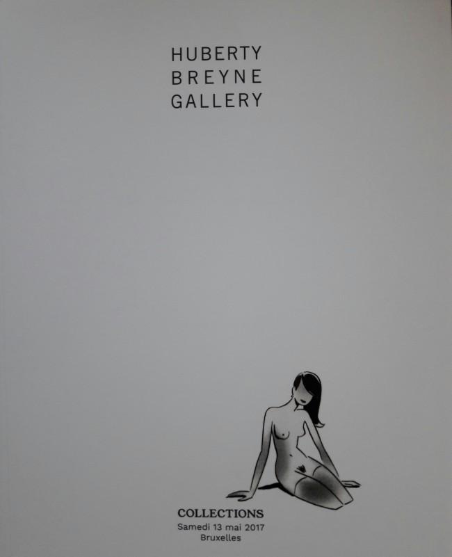 Couverture de (Catalogues) Ventes aux enchères - Divers - Huberty Breyne Gallery - Bandes dessinées - Samedi 13 mai 2017 - Bruxelles