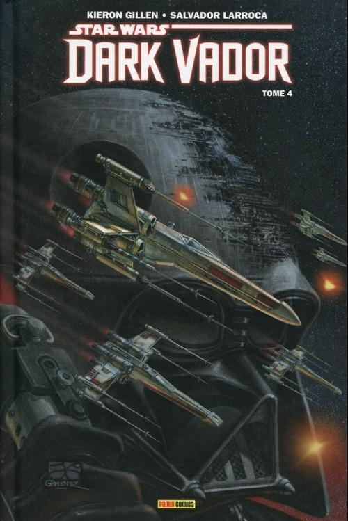 Couverture de Star Wars - Dark Vador (Panini Comics - 100% Star Wars) -4- En bout de course