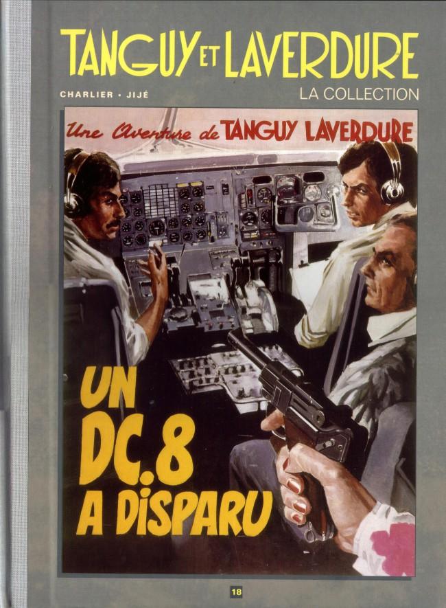 Couverture de Tanguy et Laverdure - La Collection (Hachette) -18- Un DC.8 a disparu