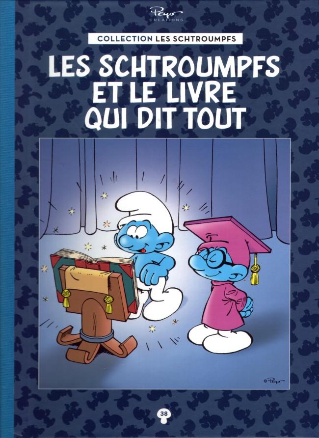 Couverture de Les schtroumpfs - La collection (Hachette) -38- Les Schtroumpfs et le livre qui dit tout