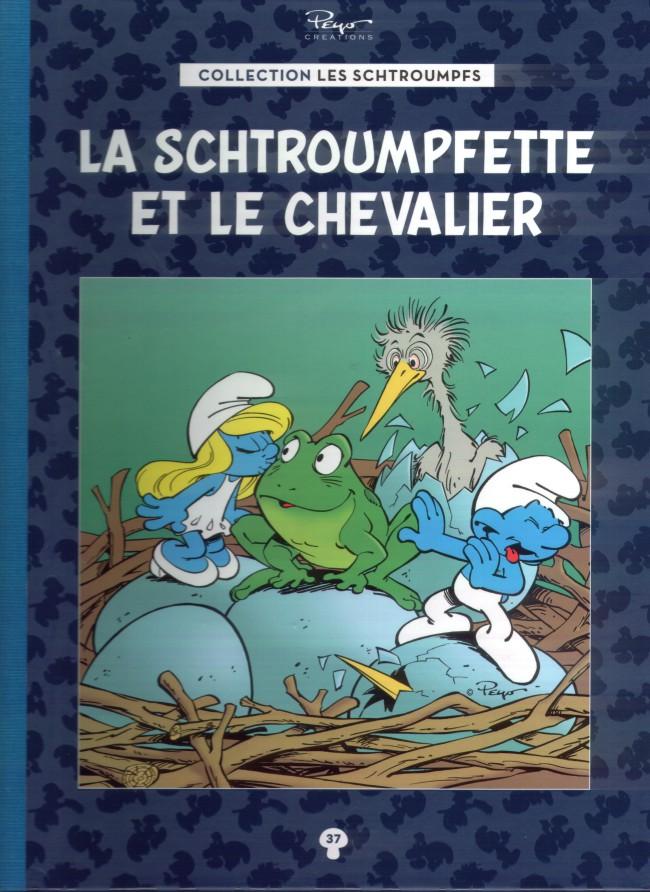 Les schtroumpfs la collection hachette 37 la schtroumpfette et le chevalier - Le grand schtroumpf et la schtroumpfette ...