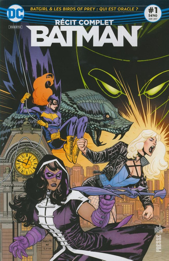 Couverture de Batman - Récit Complet (DC Presse) -1- Batgirl & les Birds of Prey : Qui est Oracle ?