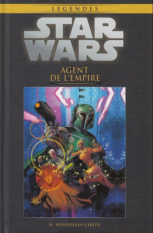 Couverture de Star Wars - Légendes - La Collection (Hachette) -4344- Agent de l'Empire - II. Nouvelles cibles