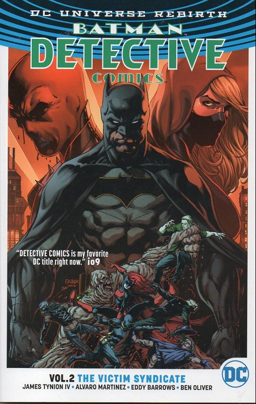 Couverture de Detective Comics (1937) -INT02- The victim syndicate