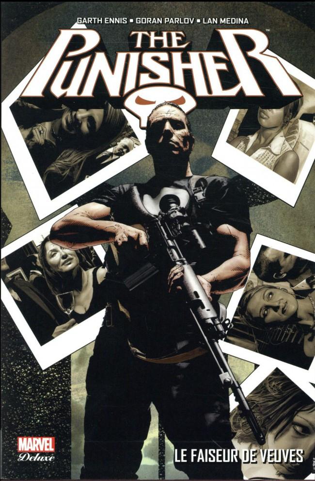 Couverture de Punisher (Marvel Deluxe - 2013) -5- Le faiseur de veuves