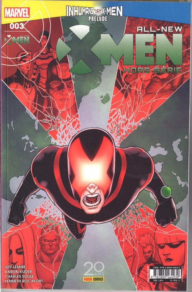 Couverture de All-New X-Men -HS03- Mort sous X