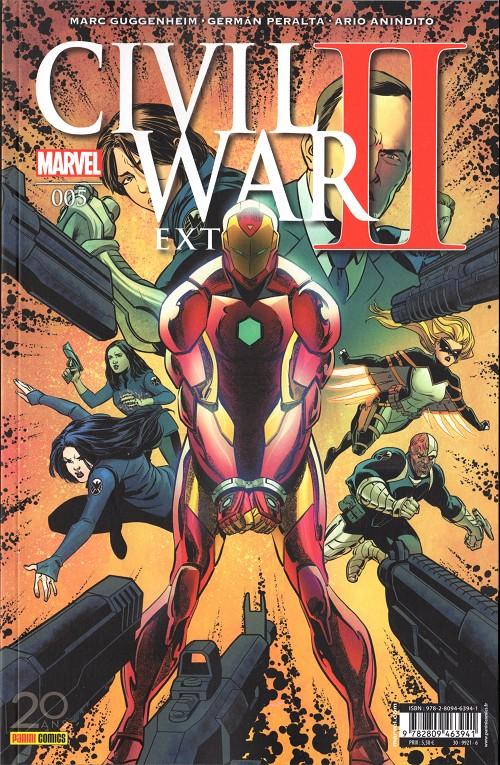 Couverture de Civil War II Extra -5- Tome 05