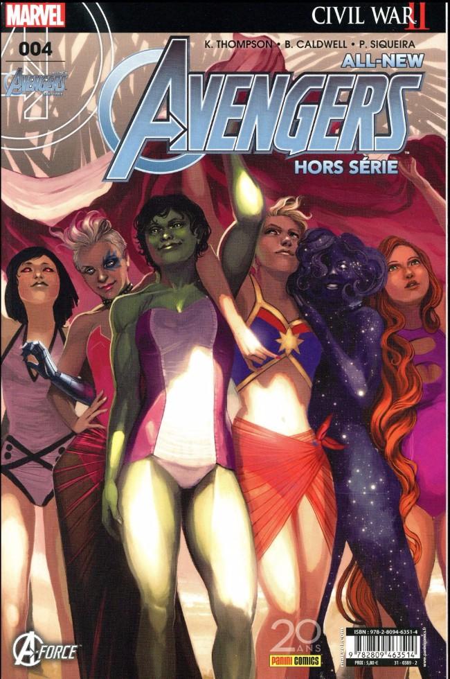 Couverture de All-New Avengers -HS04- Esprits éclairés face à l'oscurité