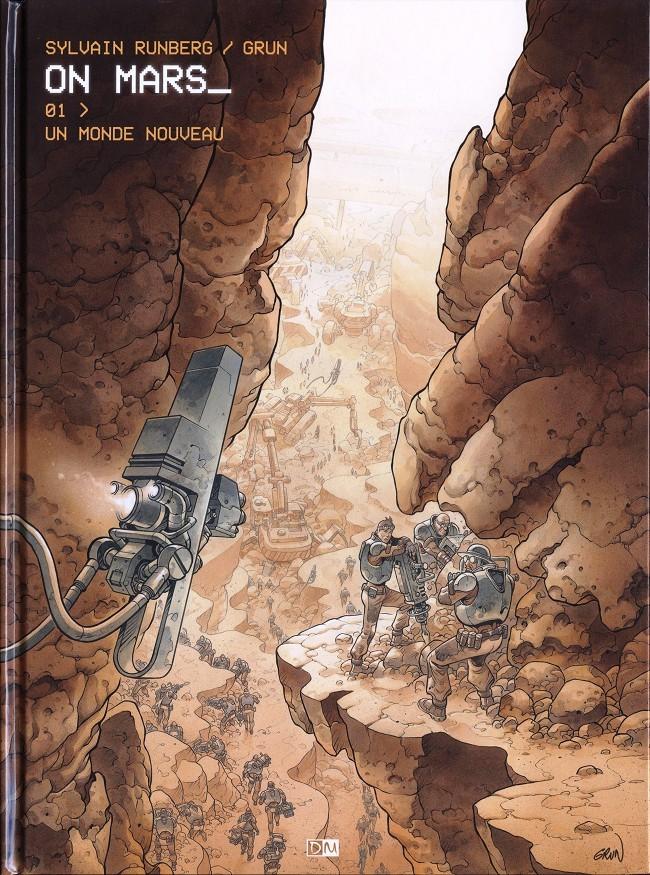 Couverture de On Mars_ -1- Un monde nouveau