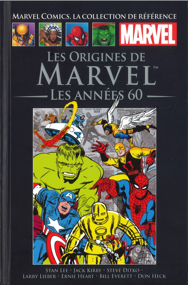 Couverture de Marvel Comics - La collection (Hachette) -8773- Les Origines de Marvel - Les Années 60