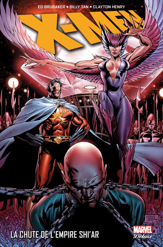 Couverture de X-Men (Marvel Deluxe) - La Chute de l'Empire Shi'ar