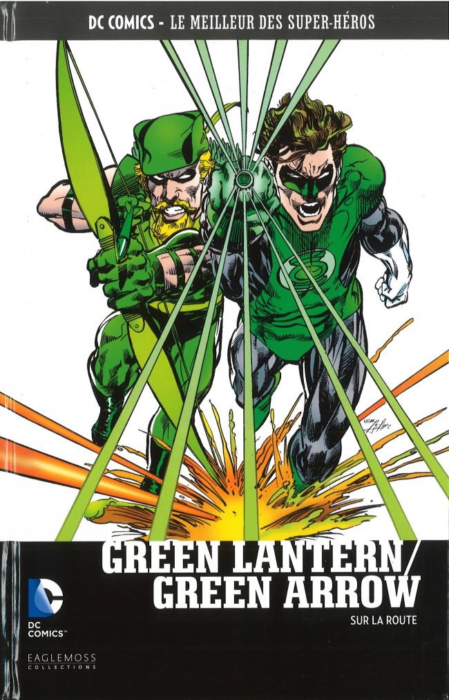 Couverture de DC Comics - Le Meilleur des Super-Héros -49- Green Lantern/Green Arrow - Sur la route