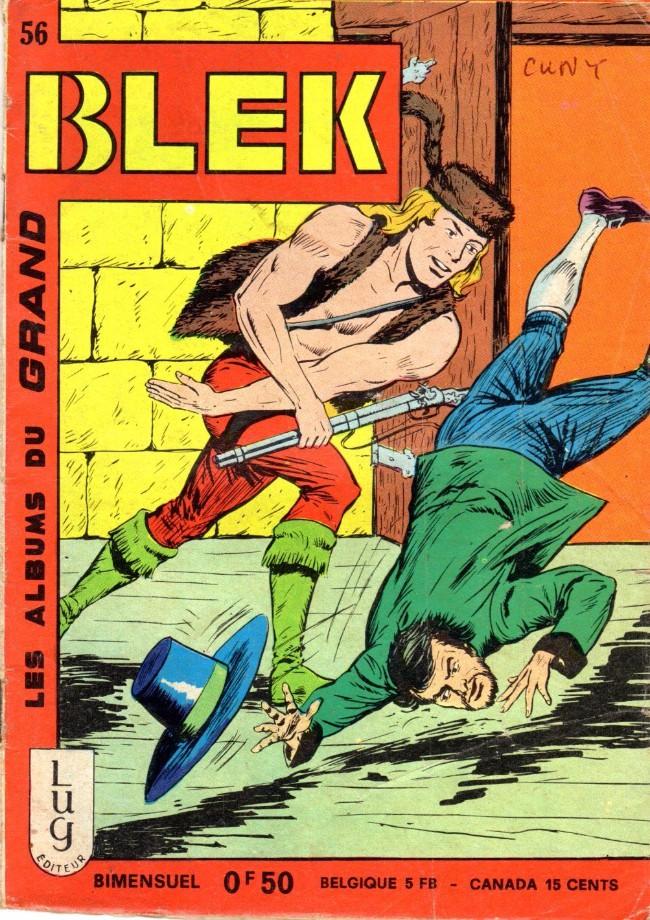 Couverture de Blek (Les albums du Grand) -56- Numéro 56