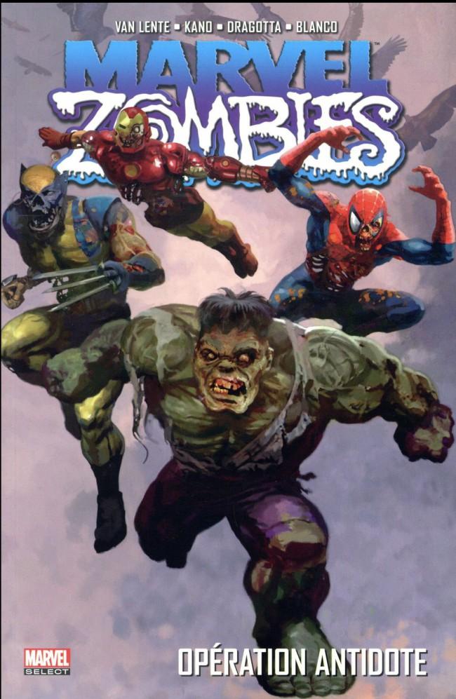Couverture de Marvel Zombies (Marvel Select) -3- Opération antidote