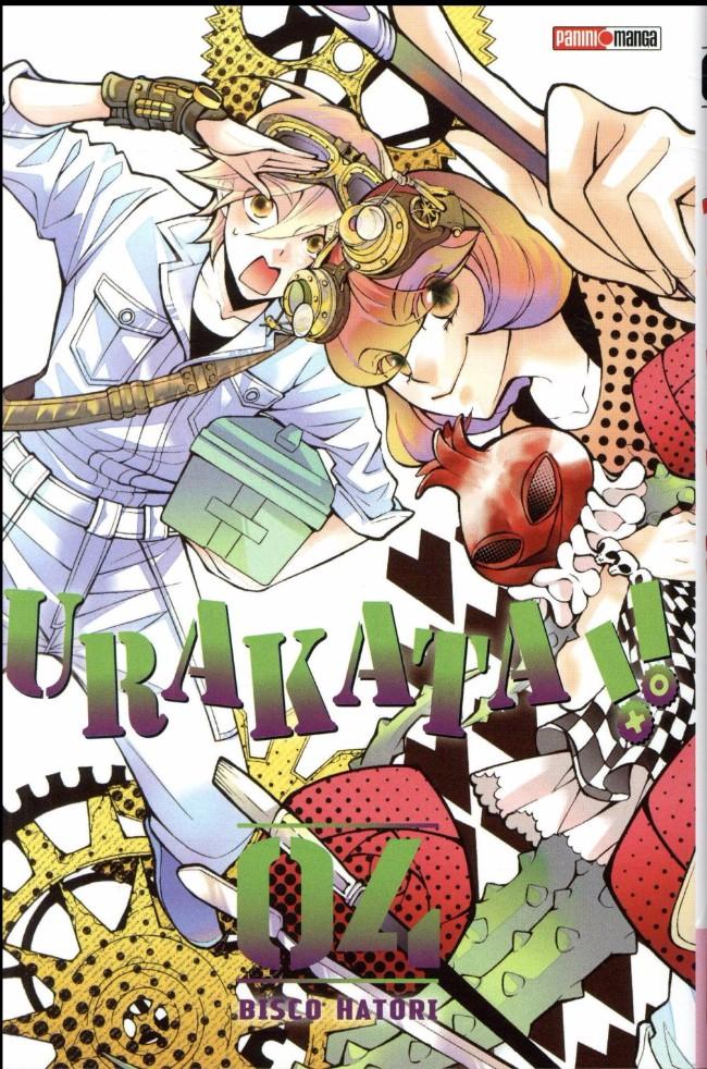 Couverture de Urakata !! -4- Tome 4
