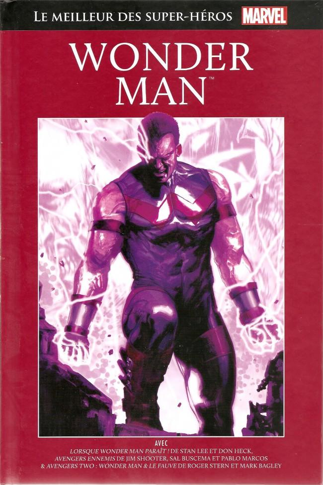 Couverture de Marvel Comics : Le meilleur des Super-Héros - La collection (Hachette) -39- Wonder Man