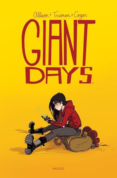 Couverture de Giant Days -1- Tome 1