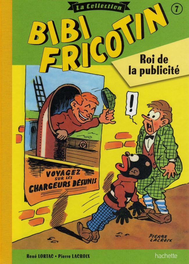 Couverture de Bibi Fricotin (Hachette - la collection) -7- Roi de la publicité