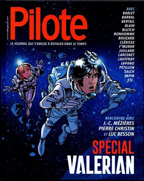 Couverture de Valérian -HS3- Pilote spécial valérian