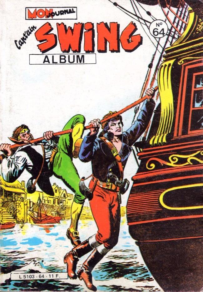 Couverture de Capt'ain Swing! (1re série) -Rec064- Album N°64 (du n°222 au n°224)