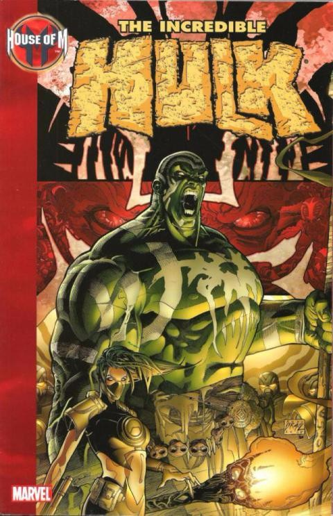 Couverture de Incredible Hulk (The) (Marvel comics - 2000) -INT12- Hous of M: The Incredible Hulk