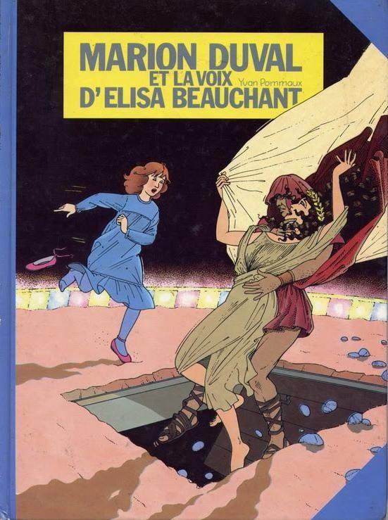 Couverture de Marion Duval -2- et la voix d'Elisa Beauchant
