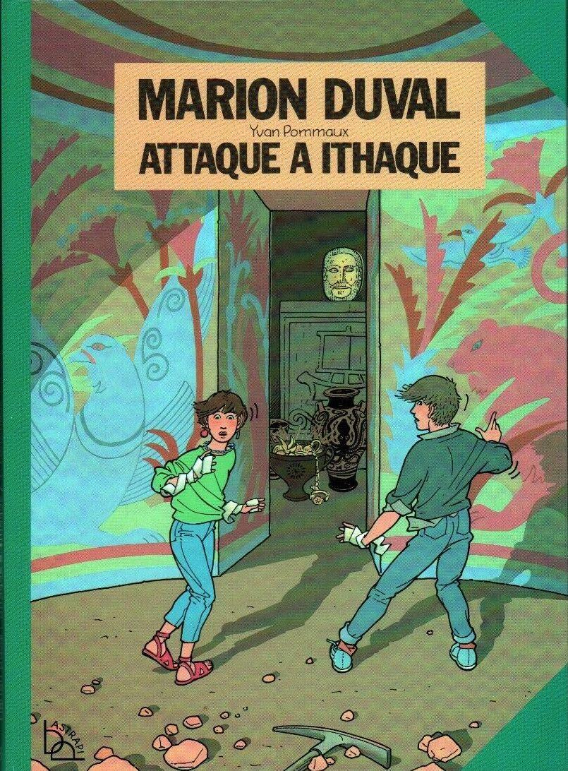 Couverture de Marion Duval -3- Attaque à Ithaque