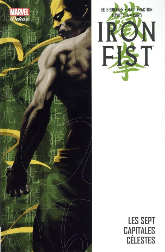 Couverture de Iron Fist (100% Marvel - 2008) -INT2- Les sept capitales célestes