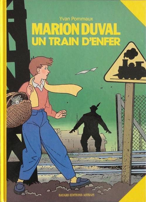 Couverture de Marion Duval -6- Un train d'enfer