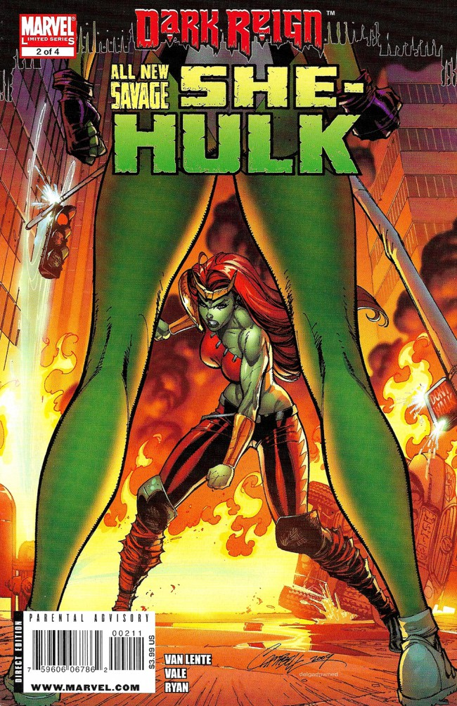 Couverture de All New Savage She-Hulk (2009) -2- Universal Monster