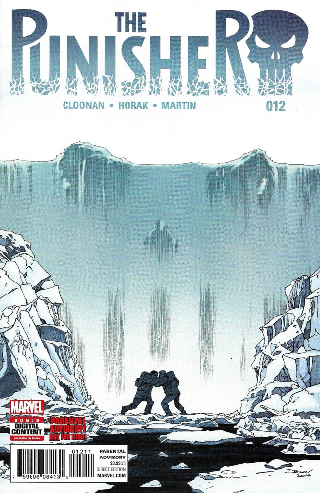 Couverture de Punisher (2016) (The) -12- Issue 12