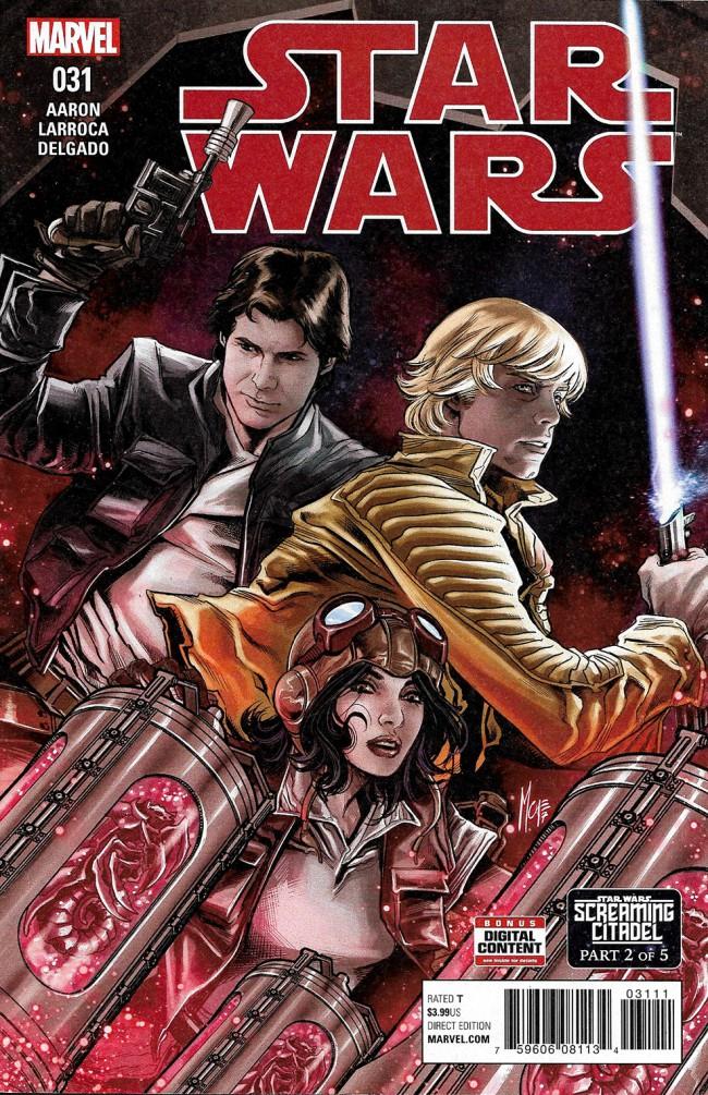 Couverture de Star Wars Vol.2 (Marvel comics - 2015) -31- Book VII, Part II : The Screaming Citadel