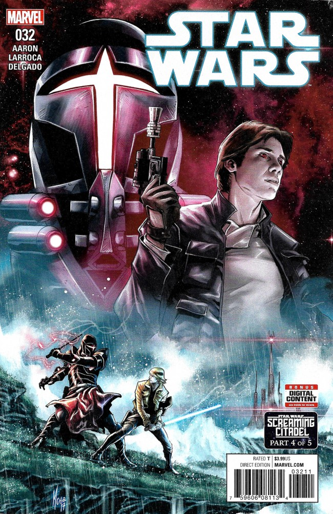 Couverture de Star Wars (2015) -32- Book VII, Part IV : The Screaming Citadel