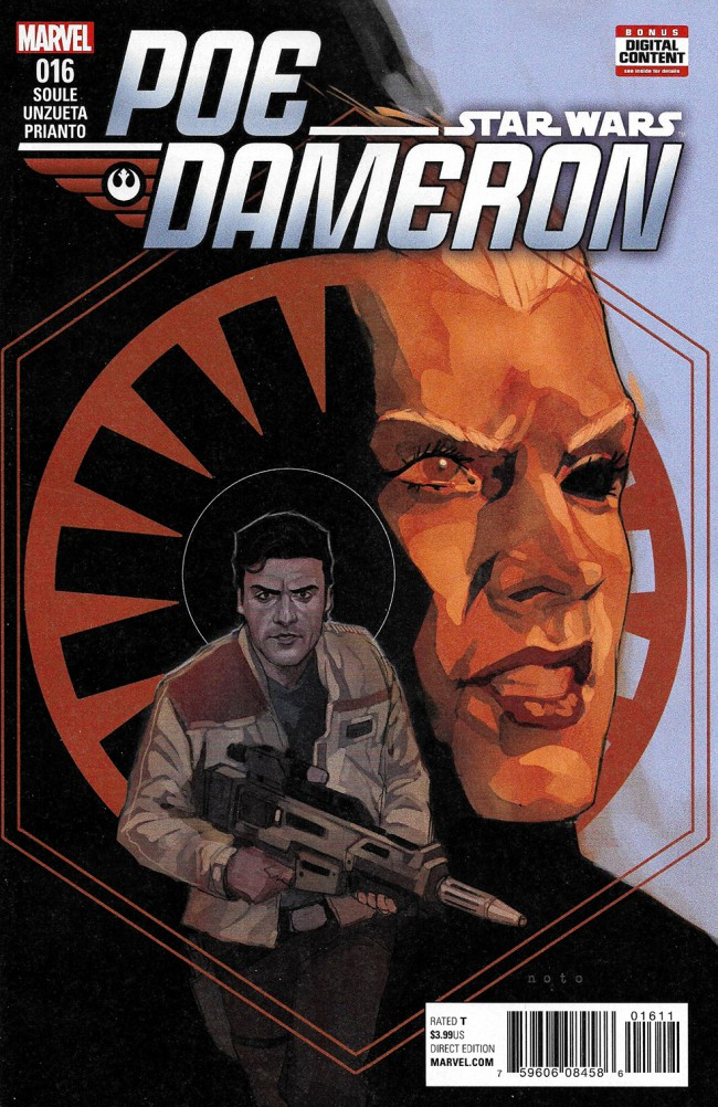 Couverture de Poe Dameron (2016) -16- Book III, Part III : Legend Lost