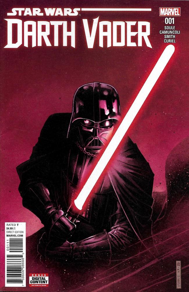Couverture de Darth Vader (2017) -1- The Chosen One Part I