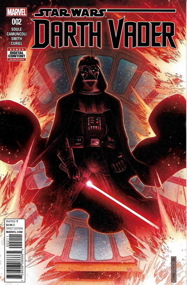 Couverture de Darth Vader (2017) -2- The Chosen One Part II
