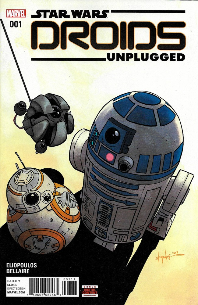 Couverture de Star Wars: Droids Unplugged -1- Droids Unplugged