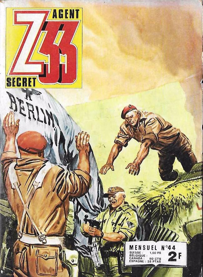 Couverture de Z33 agent secret -44- Objectif enlever Churchill