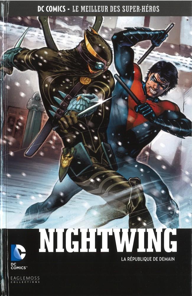 Couverture de DC Comics - Le Meilleur des Super-Héros -50- Nightwing - La République de Demain