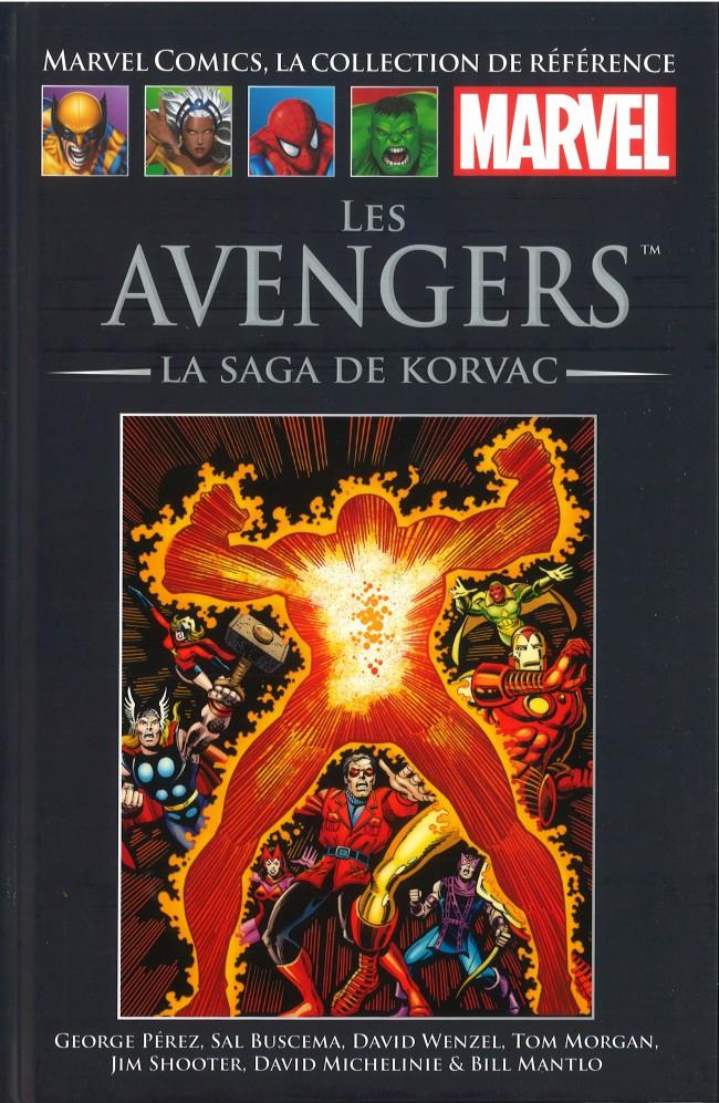 Couverture de Marvel Comics - La collection (Hachette) -89XXXVII- Les Avengers - La Saga de Korvac